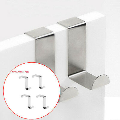 Stainless Steel High Quality Square Hooks for Kitchen Door Bathroom Clothes Coat
