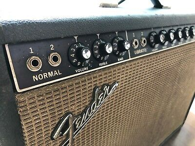 FENDER DELUXE REVERB Amp (1966) - VINTAGE and VIBEY!