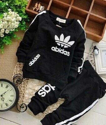 Baby Boys and Girls Adidas Suits Clothing Set