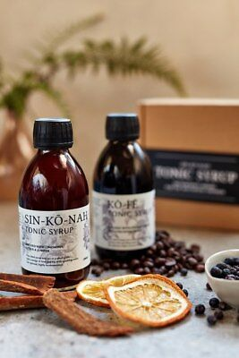 Sin-ko  -nah tonic syrup & ko-fe tonic syrup 200ml Twin Pack