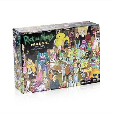 Rick and Morty Total Rickall Party Board Games Cooperative Card Game Toys