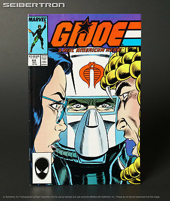 GI JOE A Real American Hero #64 Marvel Comics 1987