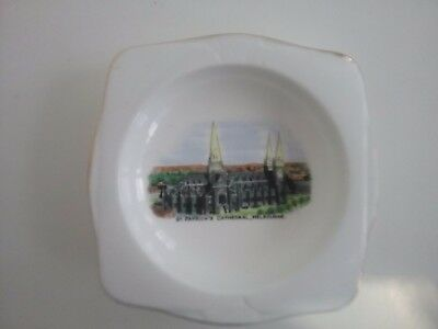 St. PATRICKS  CATHEDRAL  MELBOURNE... GRAFTON  CHINA DISH  ...PERFECT  COND.