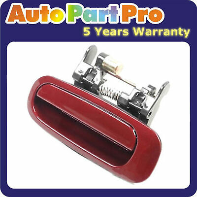 Set 4 Outside Door Handle For Toyota Corolla Prizm Burgundy Red 3M8 DS133