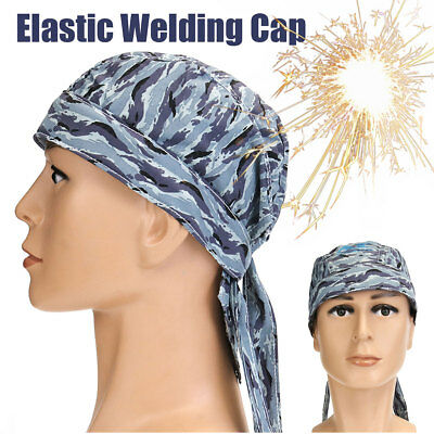 Welding Welder Hat Cap Flame Retardant Protector Helmet Sweat Absorption Elastic