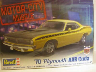 Revell 1970 plymouth AAR Cuda factory sealed