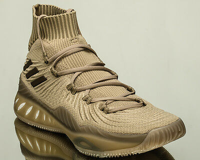 new concept 62923 0db0f adidas Crazy Explosive 2017 Primeknit PK men basketball shoes khaki BY4471