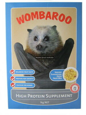 High Protein Supplement 1kg Wombaroo possum glider flying fox protein ANC-532