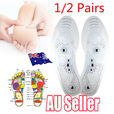 MindInSole Acupressure Massage Foot Therapy Reflexology Pain Relief New Insole Y
