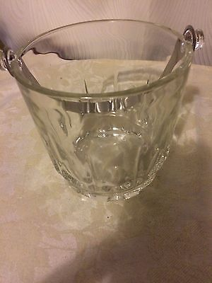 Inox Japan Crystal Ice Bucket, stainless handle