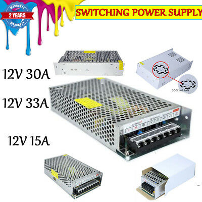 DC 12V 24V Universal AC/DC Regulated Switching Power Supply for LED Strip CCTV