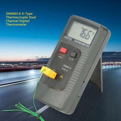 New DM6801A K Type Digital Thermocouple Thermometer Temperature Tester -40~250℃