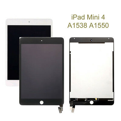 For Apple iPad Mini 4 A1538 A1550 LCD Display Touch Screen Digitizer Replacement