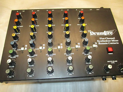 80's DRUMFIRE DRUM SYNTHESIZER