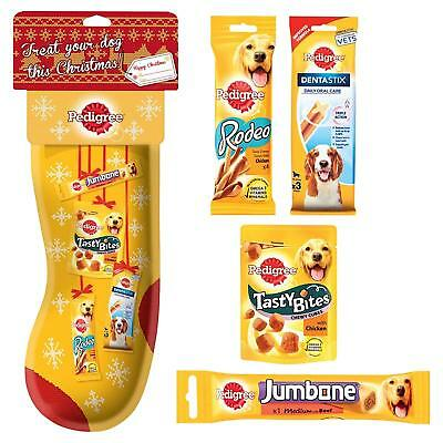 Pedigree Christmas Stocking For Dogs - Xmas Rodeo Dentastix Jumbone Tasty Bites