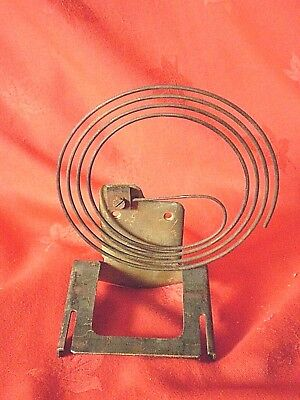 Vintage Clock Metal Coil Chime With Back Plate