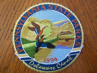 Pa Pennsylvania Game Fish 1994  Delaware Canal State Park  Patch