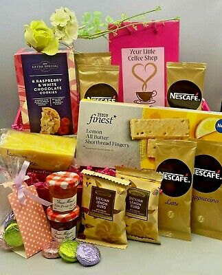 """Dads Birthday Fathers Day Tea Biscuits & Cake Hamper Gift Box """"BEST DAD EVER"""""""