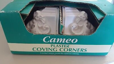 Cameo Plaster Coving Corners Acanthus Leaf Pack Of 2 Pack 2 of 2