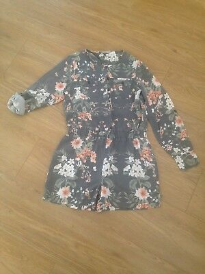 Girls Next Age 11 Playsuit Shorts with long sleeves