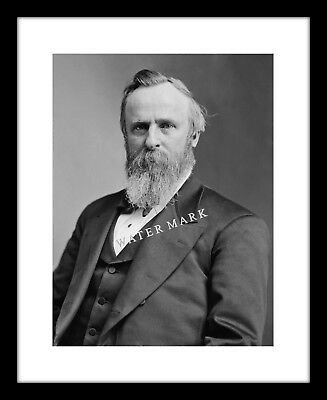 Rutherford B Hayes 8x10 Photo Print President Civil War Soldier Union Army