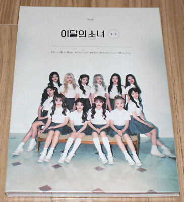 LOOΠΔ LOONA ++ MINI ALBUM LIMITED A Ver. CD + PHOTO CARD + POSTER IN TUBE CASE