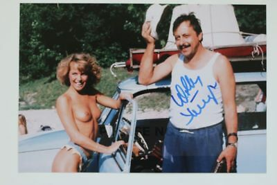 Wolfgang Stumph signed 20x30cm Go Trabi Go Foto  Autogramm / Autograph In Person