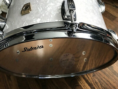 LUDWIG CLASSIC MAPLE 13 inch Tom in White Marine Pearl