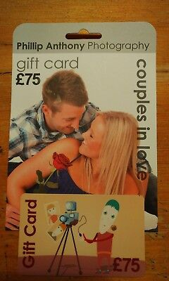 Phillip Anthony Photography Gift Card £75 York