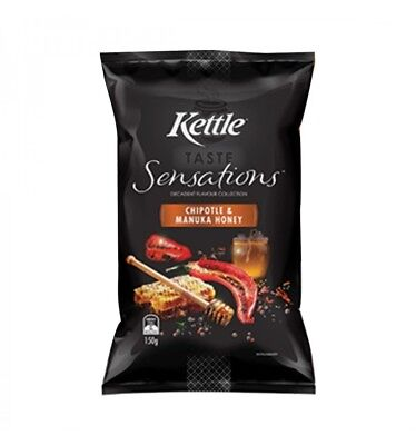 Kettle Sensations Chipotle & Honey 150g