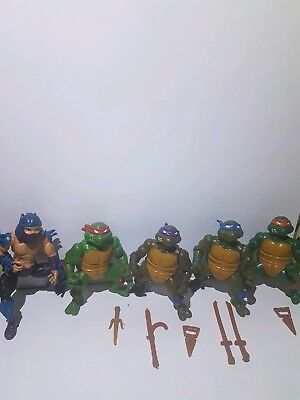 TMNT 1988 Shredder Leonardo Mike Raphael Donatello teenage mutant ninja turtles