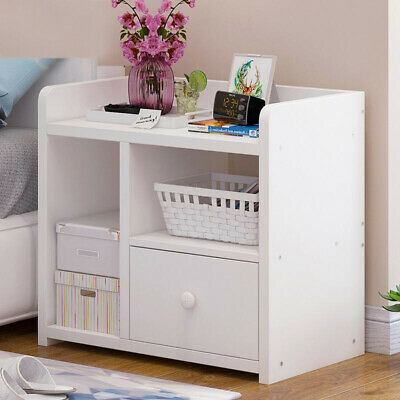 Small Bedside Cabinets Table Bedroom Furniture 1/2/3 Drawer Storage Nightstand