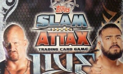 Slam Attax live 400 / 392 Complete  Full Set with 4 different ltd. Edt. Cards.