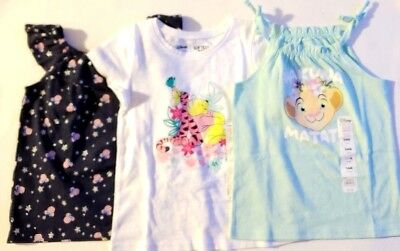 NWT Disney Jumping Beans Lot Of 3 Girls Tops Shirts 24m