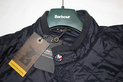 "Bnwt's 100% Genuine Barbour Steve Mcqueen 1964 Lutz Quilted Jacket Uk Xxl 25""p2P"