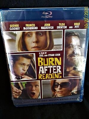 Burn After Reading (Blu-ray Disc, 2008)