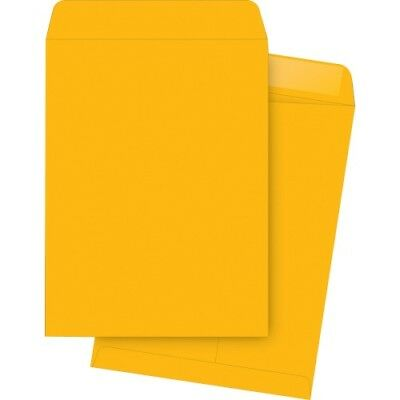 "Catalog Envelopes, Plain, 9-1/2""x12-1/2"", 250/BX, Kraft BSN42114"