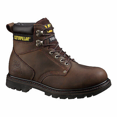 Men's Second Shift Steel-Toe Leather Boot, Wide, Size 10.5