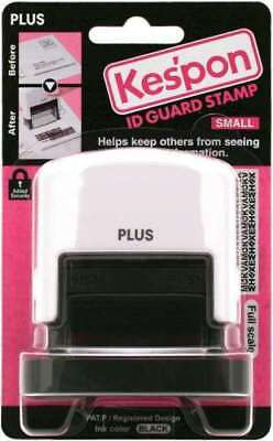 Guard Your ID Stamp, Small, 1.5 x 0.5 in., White