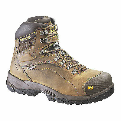 Men's Diagnostic Steel-Toe Leather Boot, Wide, Size 8