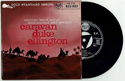 DUKE ELLINGTON * Caravan * UK Orig. Jazz 4 track EP * COLUMBIA