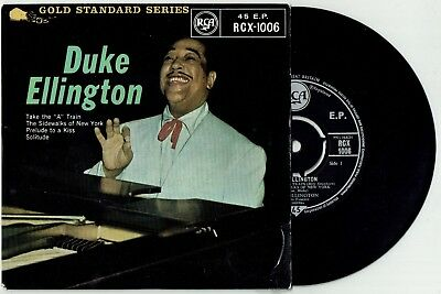 "DUKE ELLINGTON * Take The ""A"" Train * UK Orig. Jazz 4 track EP * COLUMBIA"