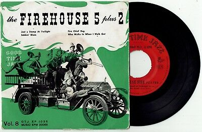 FIREHOUSE 5 PLUS 2 * Good Time Jazz 4 track EP * Vol. 8
