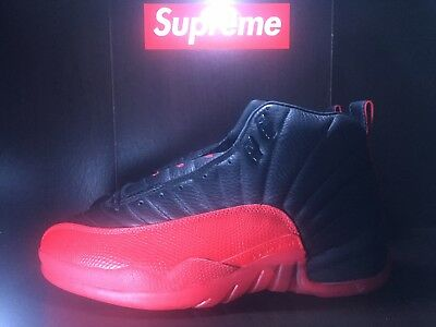 size 40 d4108 d6a01 1997 Nike Original Air Jordan 12 Flu Game Shoes OG XII Vintage 12 Not Retro  97