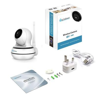 eLinkSmart WiFi Camera Baby Monitor with HD Audio Night Vision Motion Detection