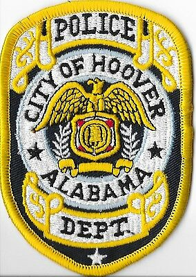 Hoover Police Department, Alabama Shoulder Patch