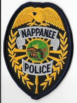 Nappanee Police Department, Indiana Breast Patch V2