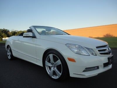 2013 Mercedes-Benz E-Class E 350 2013 MERCEDES BENZ E 350 CONVERTIBLE SPORT NAV BUC V6 CLEAN CARFAX WE FINANCE
