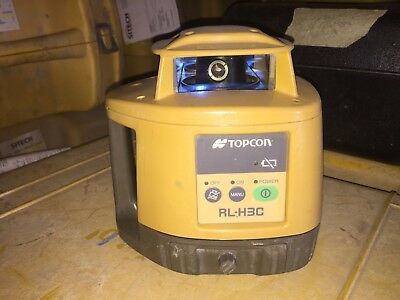 Pre-Owned TOPCON RL-H3C Rotary Laser Level - Unknown Condition