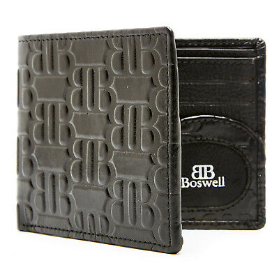 New Genuine Leather Bifold Wallets For Men Slim Mens Wallet RFID Blocking